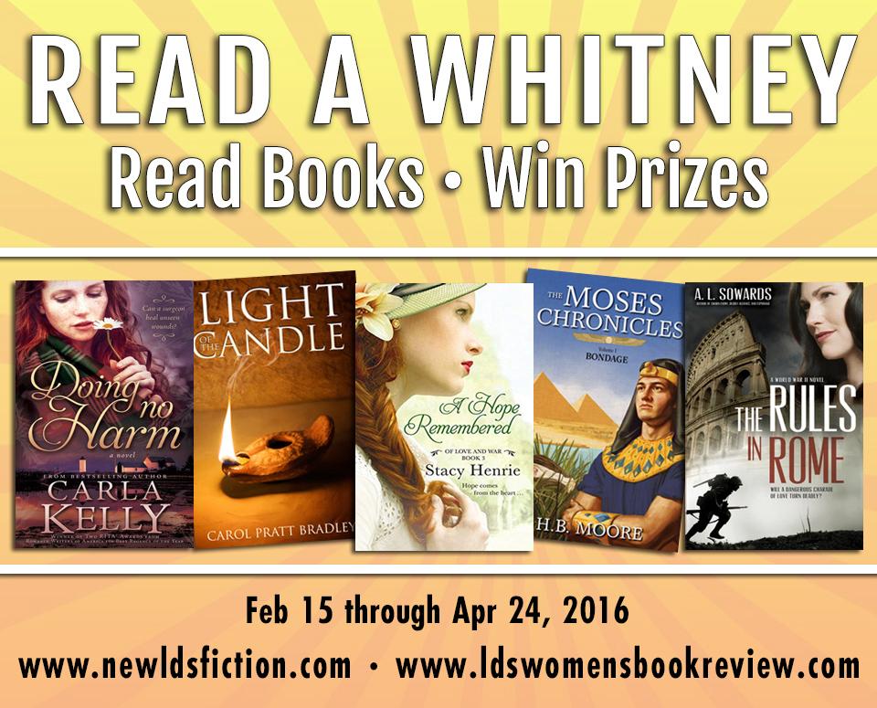 Read a Whitney Challenge Winner: Week 2