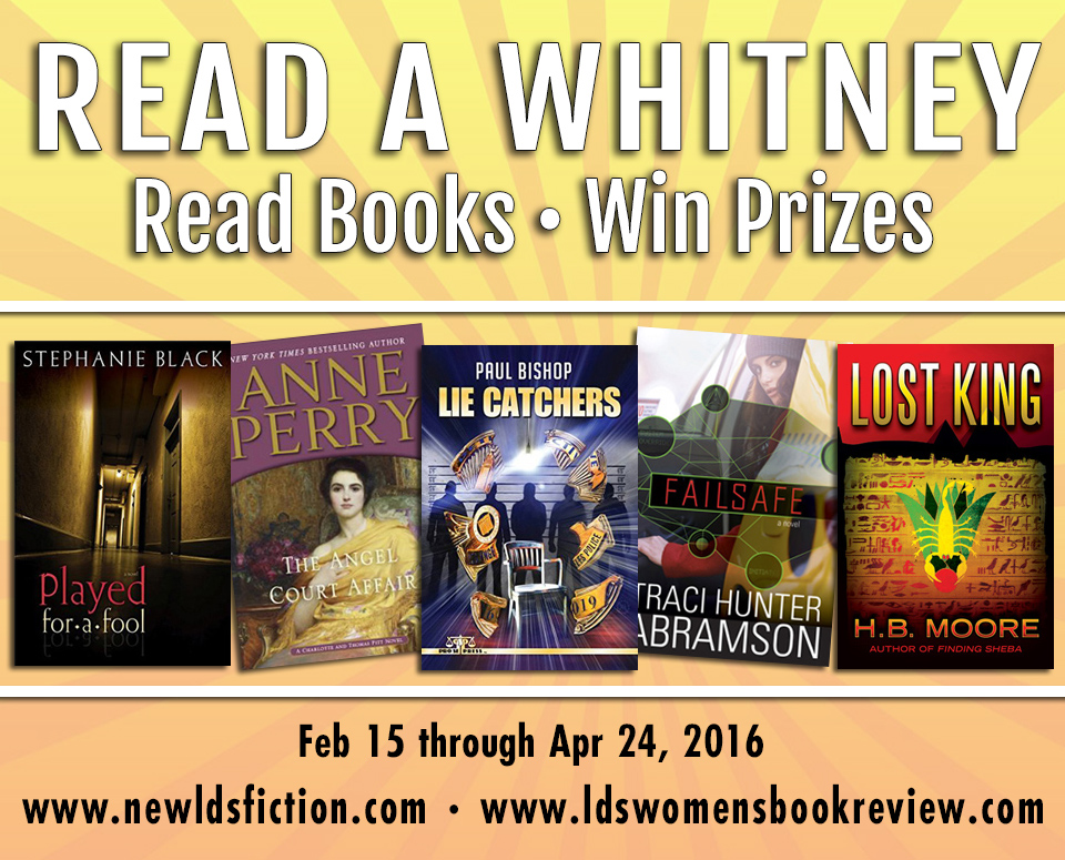 Read a Whitney Challenge Winner: Week 4
