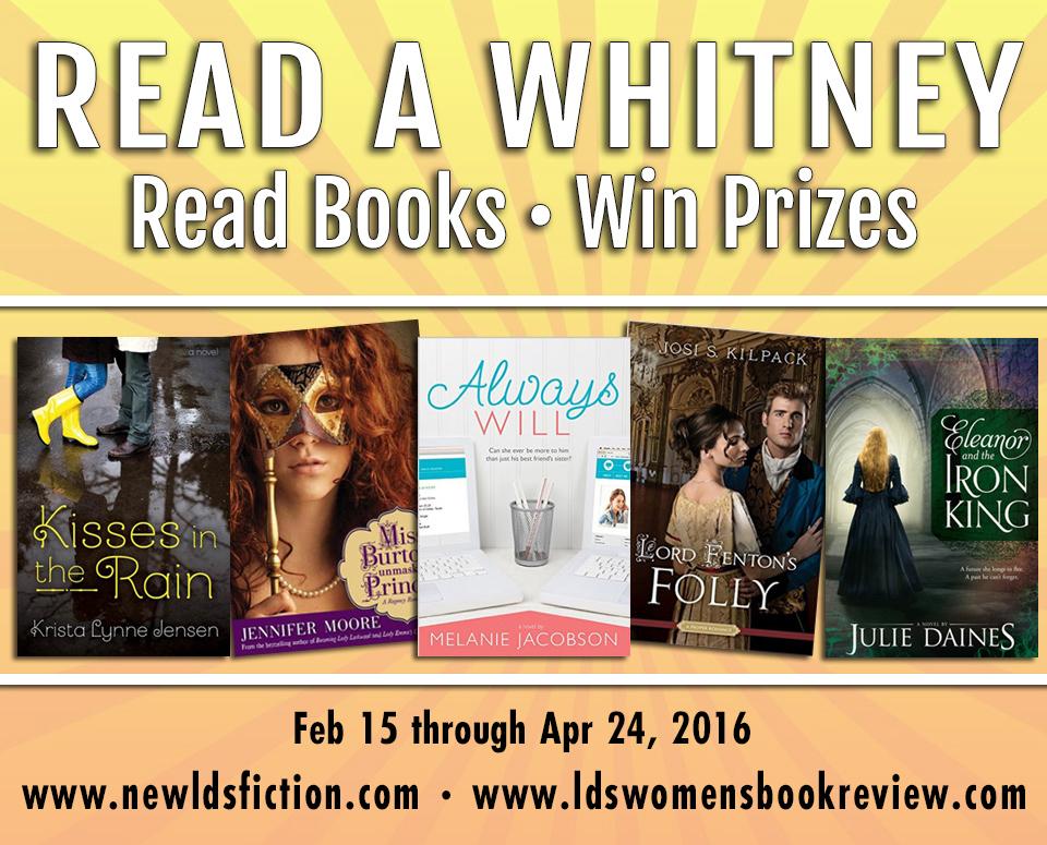 Read a Whitney Challenge Winner: Week 6