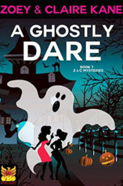 A Ghostly Dare by Zoey & Claire Kane