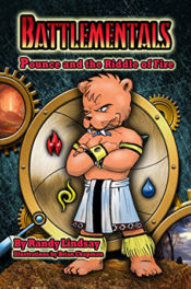 Pounce and the Riddle of Fire by Randy Lindsay