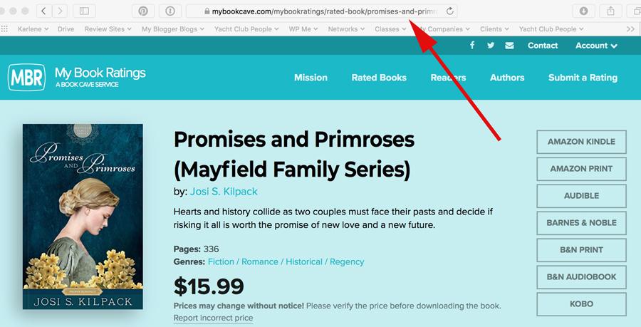 MBR Book URL