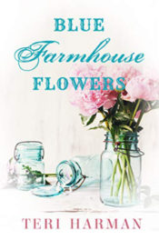 Blue Farmhouse Flowers by Teri Harman