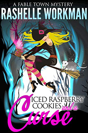 Iced Raspberry Cookies and a Curse by RaShelle Workman