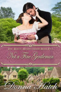 Not a Fine Gentleman by Donna Hatch