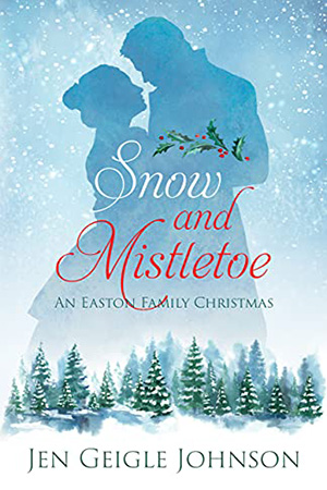 Snow and Mistletoe by Jen Geigle Johnson