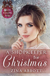 A Shopkeeper for Christmas by Zina Abbott