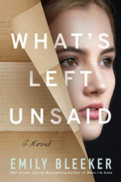 What's Left Unsaid by Emily Bleeker